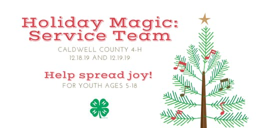 Holiday Magic: Service Team