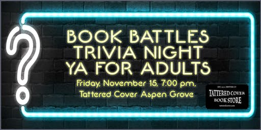 Book Battles Trivia Night - YA for Adults