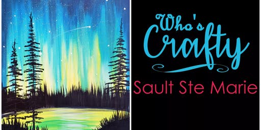 Who's Crafty SSM ~ Aurora Sky ~ Upper Deck