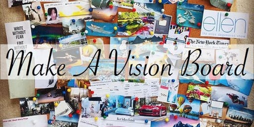Create the life you want in 2020 at the VIDA Vision Board Party!