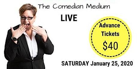 Jennie Ogilvie - The Comedian Medium, LIVE in Langdon , AB tickets