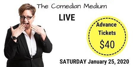 Jennie Ogilvie - The Comedian Medium, LIVE in 716 Centre St N. Langdon , AB