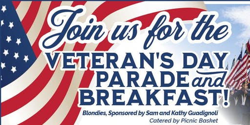 Veterans Day Parade and Breakfast