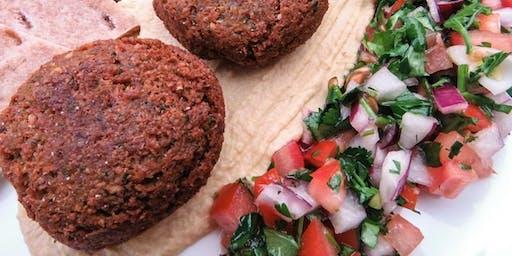 Vegan Cooking Class: Homemade Falafel with Hummus and Garlic Sauce