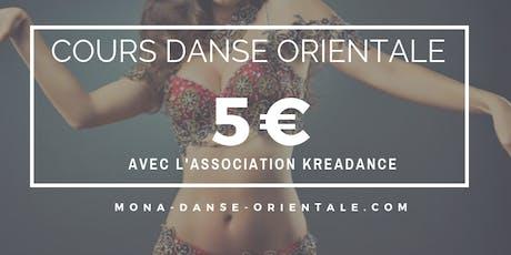 Cours de Danse Orientale 5€ / Bellydance Classes 5€ tickets