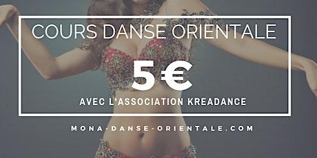 Cours de Danse Orientale 5€ / Bellydance Classes 5€ billets