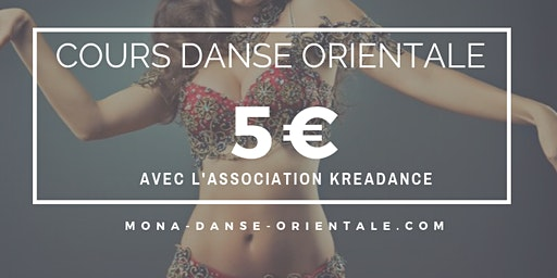 Cours de Danse Orientale 5€ / Bellydance Classes 5€
