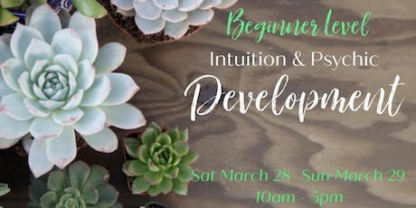 Intuition and Psychic Development -Beginner Level  tickets