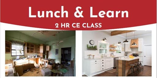 Renovation Loan Lunch & Learn: 2 Hour CE Class for Real Estate Agents