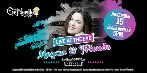 LIVE at the Eye: Megan Moreau and Friends