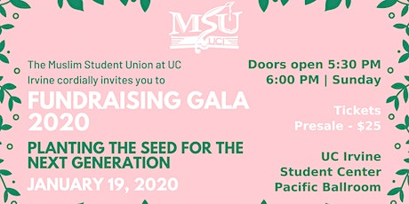 MSU Fundraising Gala 2020: Planting the Seed for the Next Generation tickets