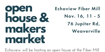 Echoview Fiber Mill's Open House and Makers Market