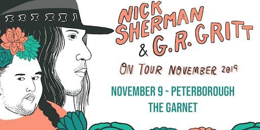 Nick Sherman + G.R. Gritt at the Garnet