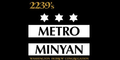 Metro Minyan - November 22
