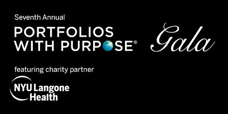 Seventh Annual Portfolios with Purpose Gala tickets