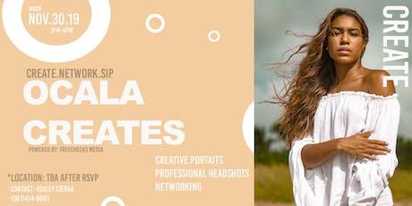 Ocala Creates- Network/Headshots/Complimentary Refreshments tickets
