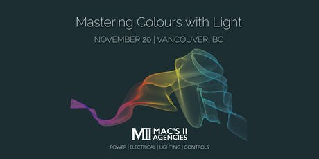 Mastering Colours with Light tickets