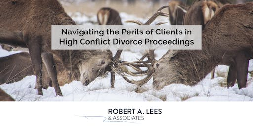 Navigating the Perils of Clients in High Conflict Divorce Proceedings