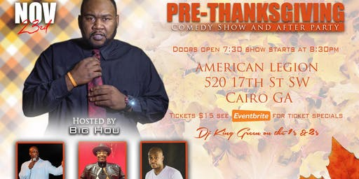 Thanksgiving Comedy Show!!
