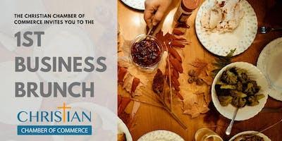 Christian Chamber of Commerce 1st Business Brunch