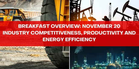 Industrial Competitiveness, Productivity and Energy Efficiency tickets