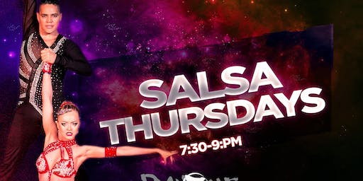 Thursday Salsa Lessons with Javier and Katya