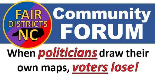 Fair Districts Forum - High Point