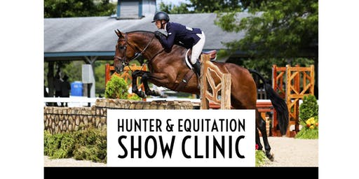 Hunter & Equitation Show Clinic with Tyler Weith