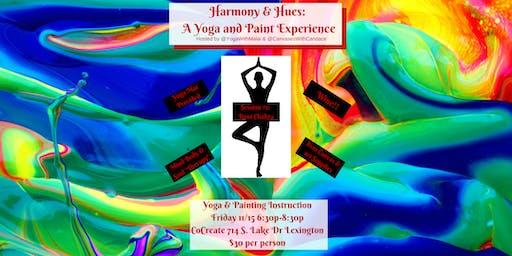 Harmony & Hues : A Yoga & Paint Experience
