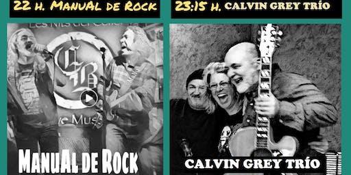 Calvin Grey Trío & ManuAl de Rock en La Granota de Fabra i Puig