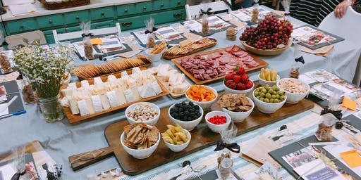 Cheese + Charcuterie | Styling your own board with The Gourmet Goddess at Little Red Barn Door