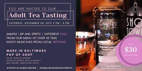 ADULT TEA PARTY (ft. Cuples Tea) - SmallBusinessSaturday 2019 tickets
