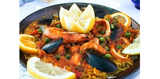 Couples in the Kitchen - Paella Party: Chef Kevin (Oakland)  (02-07-2020 starts at 6:30 PM)