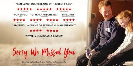 Film SORRY WE MISSED YOU tickets