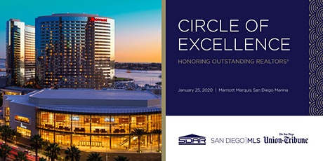 Greater San Diego Association of REALTORS® Circle of Excellence tickets
