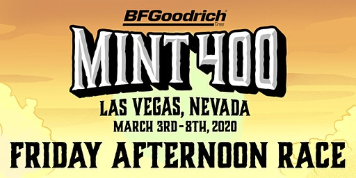 2020 Mint 400 Friday Afternoon Race