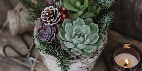 Holiday Centerpiece Workshop and Wine Tasting at Summit City Winery tickets