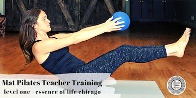 Mat Pilates Teacher Training : Level 1 : ACE Certified : Chicago