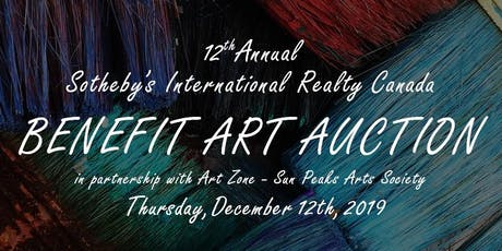 12th Annual Sotheby's International Realty Benefit Art Auction tickets
