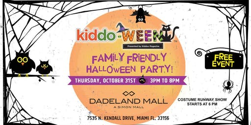 Kiddo-Ween Party at Dadeland Mall
