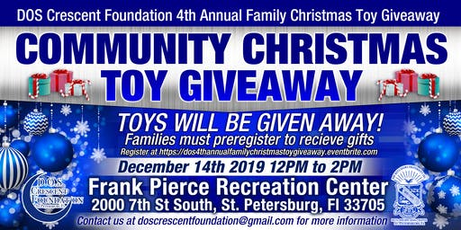 DOS Crescent Foundation 4th Annual Family Christmas Toy Giveaway
