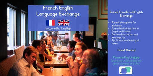 Improve learning French & English: guided exchange, relaxed and fun Paris