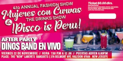 2nd. ANNUAL THE DRINKS SHOW PISCO IS PERU