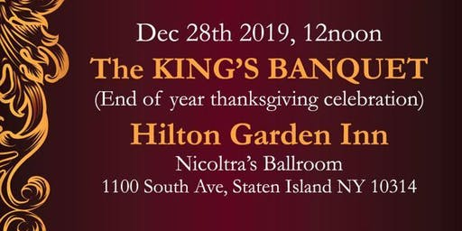 THE KING'S BANQUET