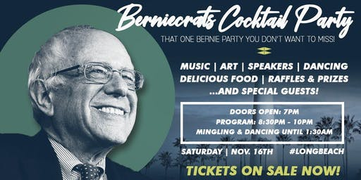 Berniecrats Cocktail Party