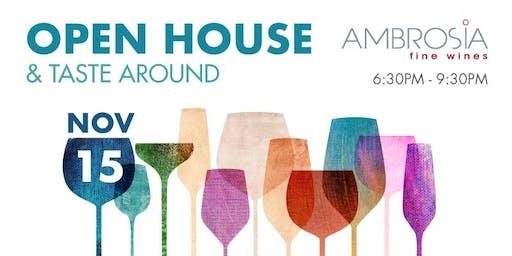 Ambrosia Open House & Taste Around - November 15th. 2019