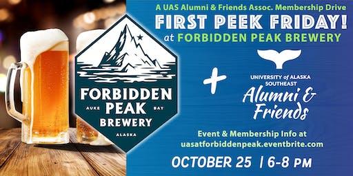 First Peek Friday at Forbidden Peak Brewery with UAS Alumni & Friends
