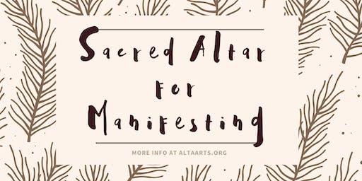 Sacred Altar for Manifesting