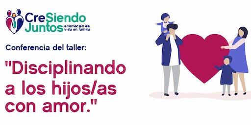 """Mannoni: CreSiendo Juntos - """"Disciplinando a los hijos/as con amor"""""""
