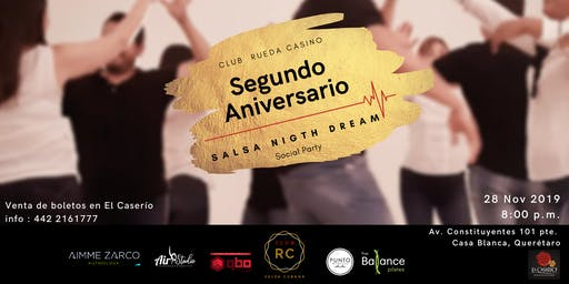Salsa Night Dream - 2 Años Club RC